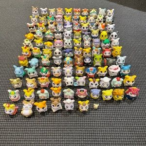 Vintage set of hamtaro figures from China